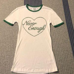 """Never Enough"" Zoe Karssen tee"